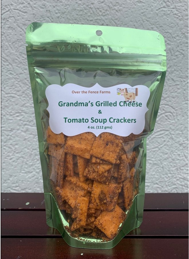 Grilled Cheese Crackers