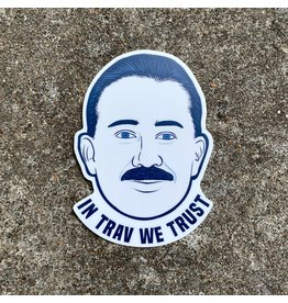 Ida Red In Trav We Trust Sticker