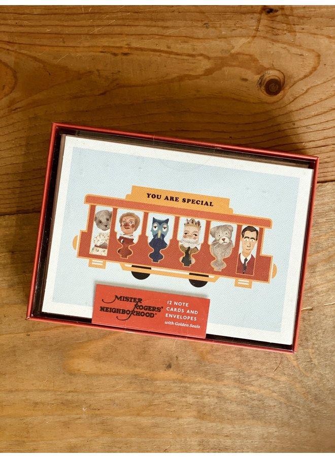 Mister Rogers' Neighborhood Notecards