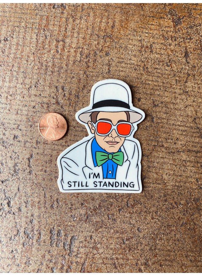 Elton John Still Standing Sticker