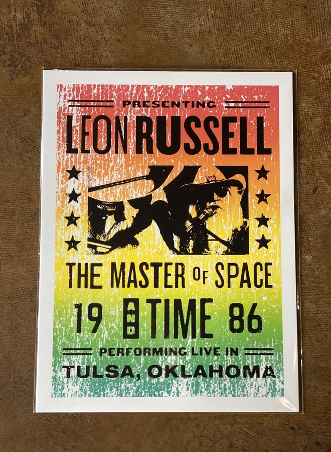 18x24 Leon Russell Flyer Print