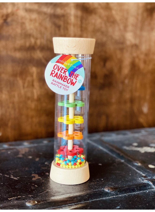 Rainbow Beads Rattle Toy