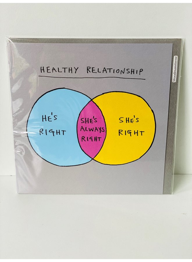 Healthy Relationship Card