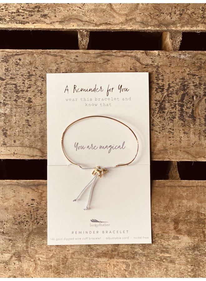 MAGICAL Reminder Bracelet