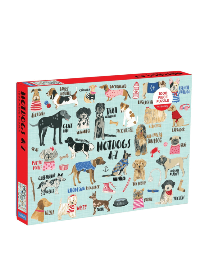 Hot Dogs A-Z Puzzle 1000 pc.