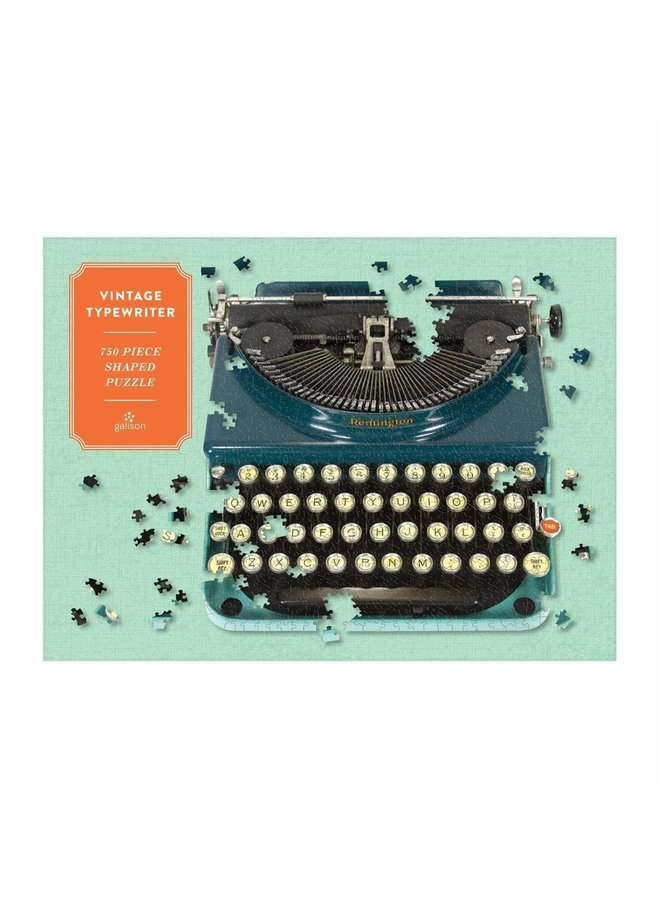 Shaped Vintage Typewriter Puzzle 750 pc.