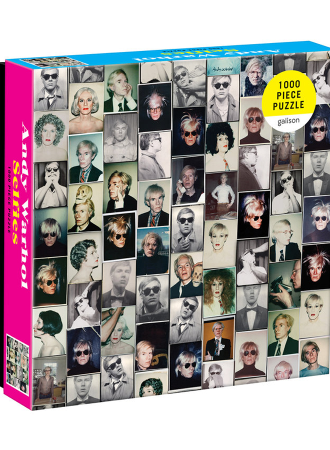 Andy Warhol Selfies Puzzle 1000 pc.