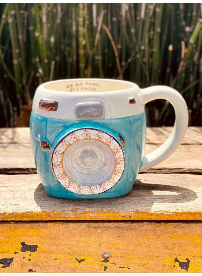 Camera Folk Mug