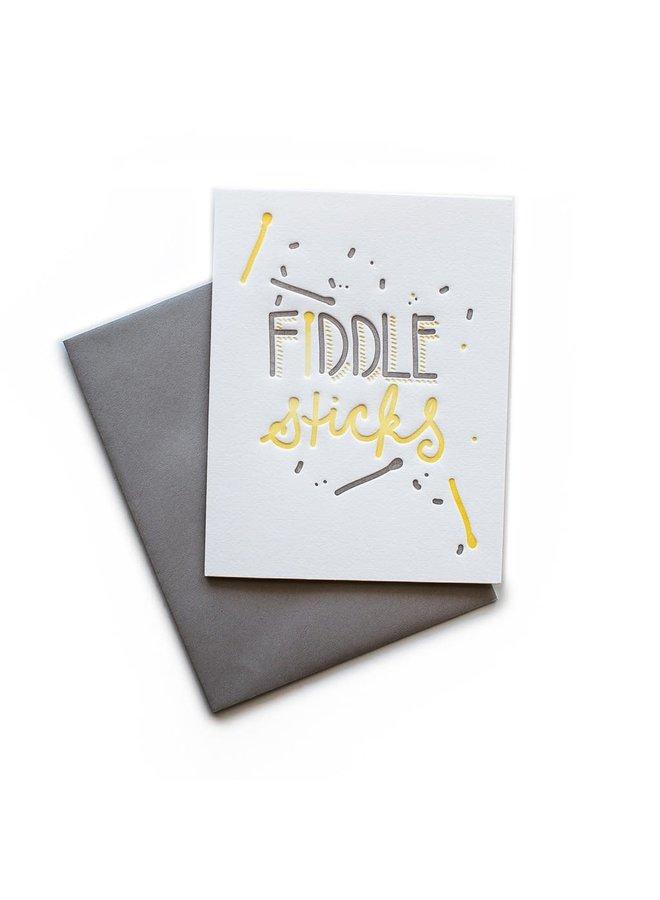Fiddlesticks Card