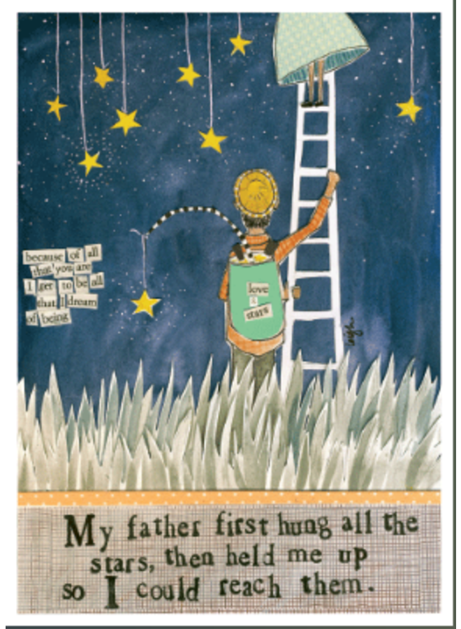 My Father First Card