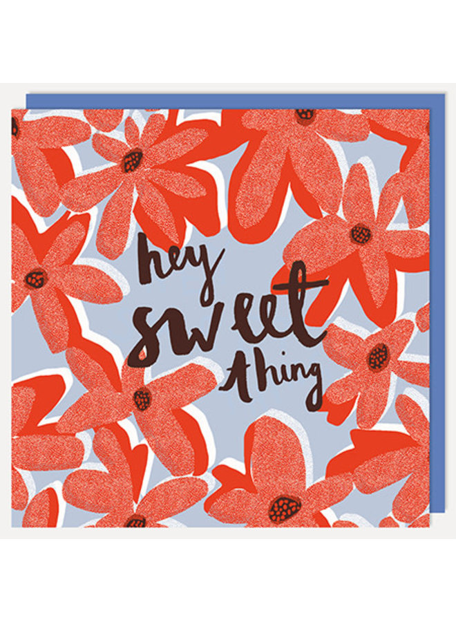 Hey Sweet Thing Card