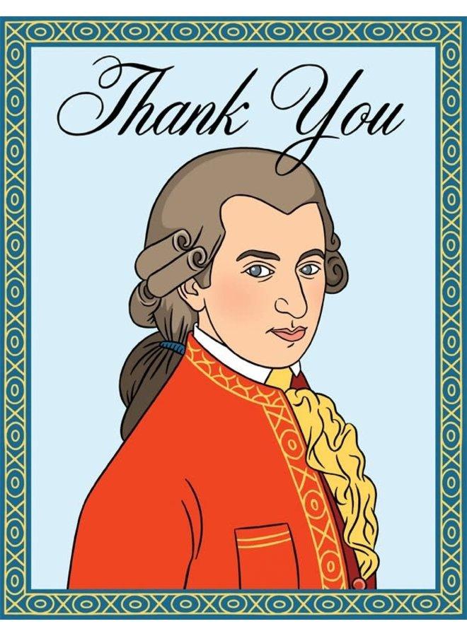Mozart TY Card