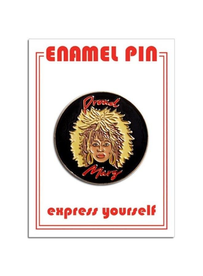 Tina Turner Pin