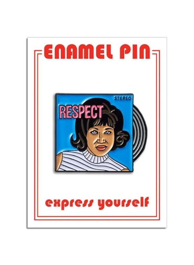 Aretha Franklin Respect Pin