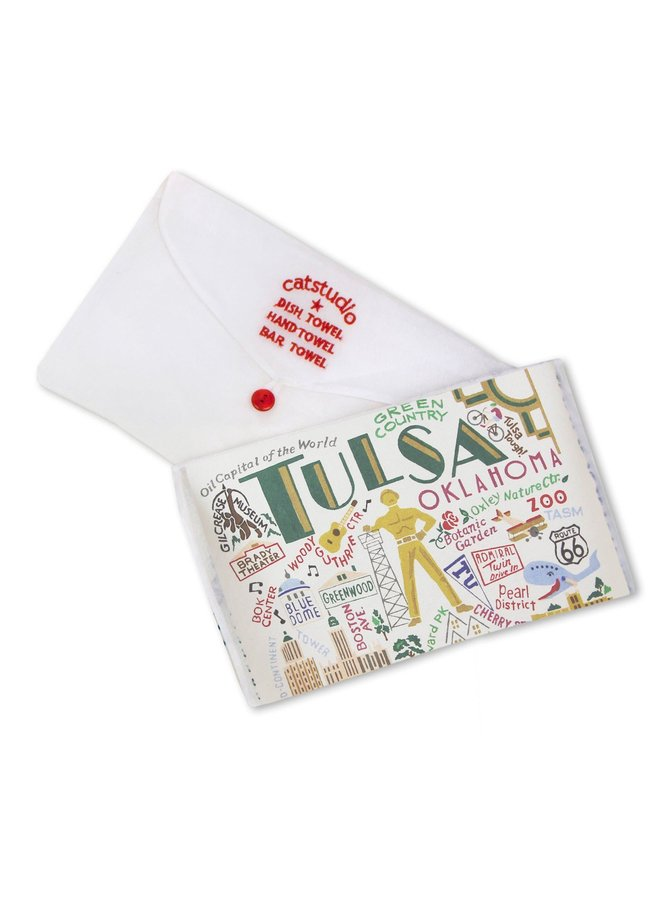 Tulsa Dish Towel