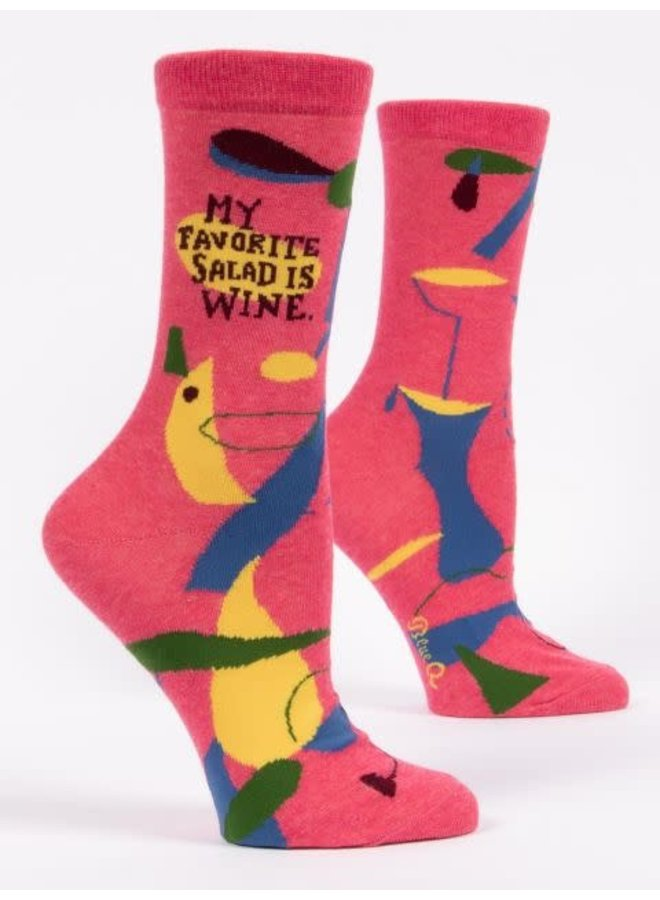 My Favorite Salad Women's Crew Socks