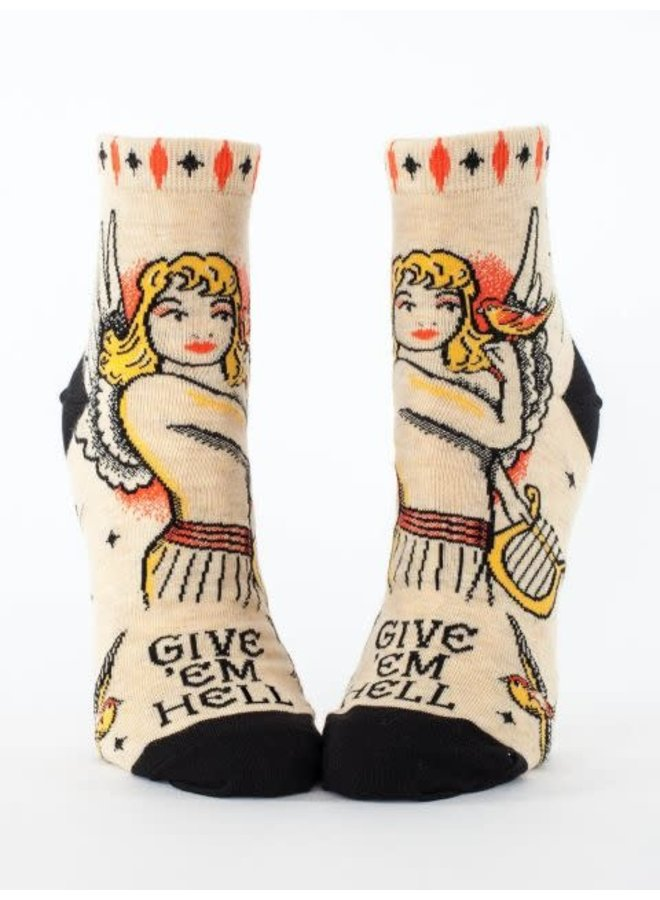 Give 'em Hell Women's Ankle Socks