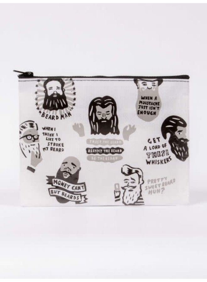 Beards Zipper Pouch