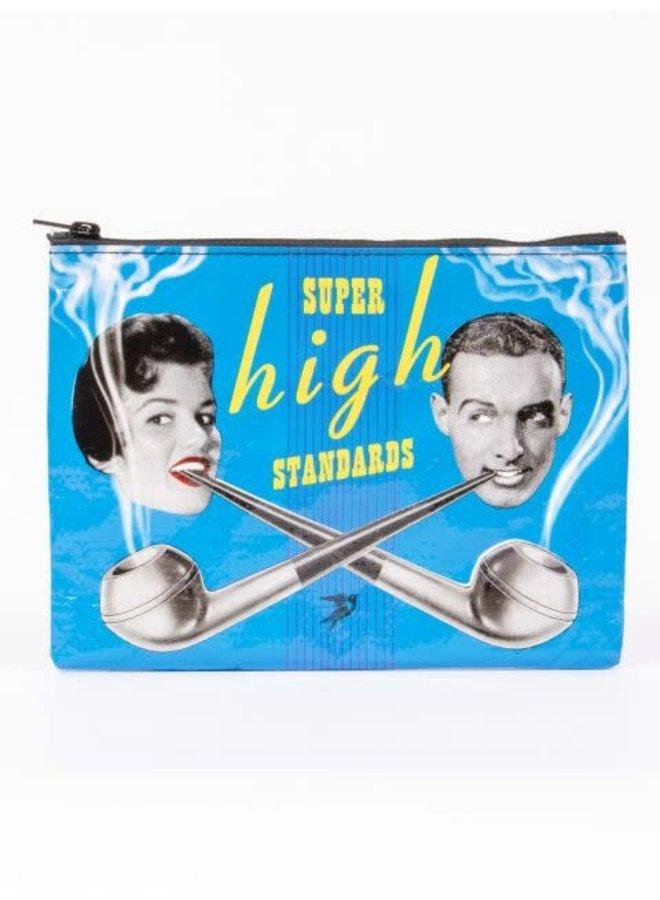 Super High Zipper Pouch