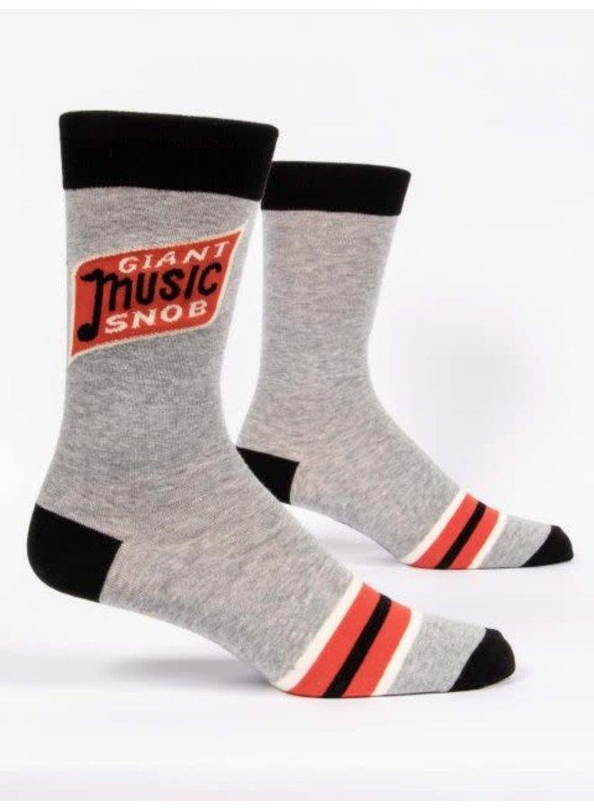 Giant Music Snob Men's Socks