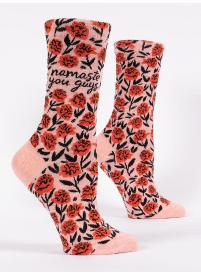 Namaste You Guys Women's Crew Socks