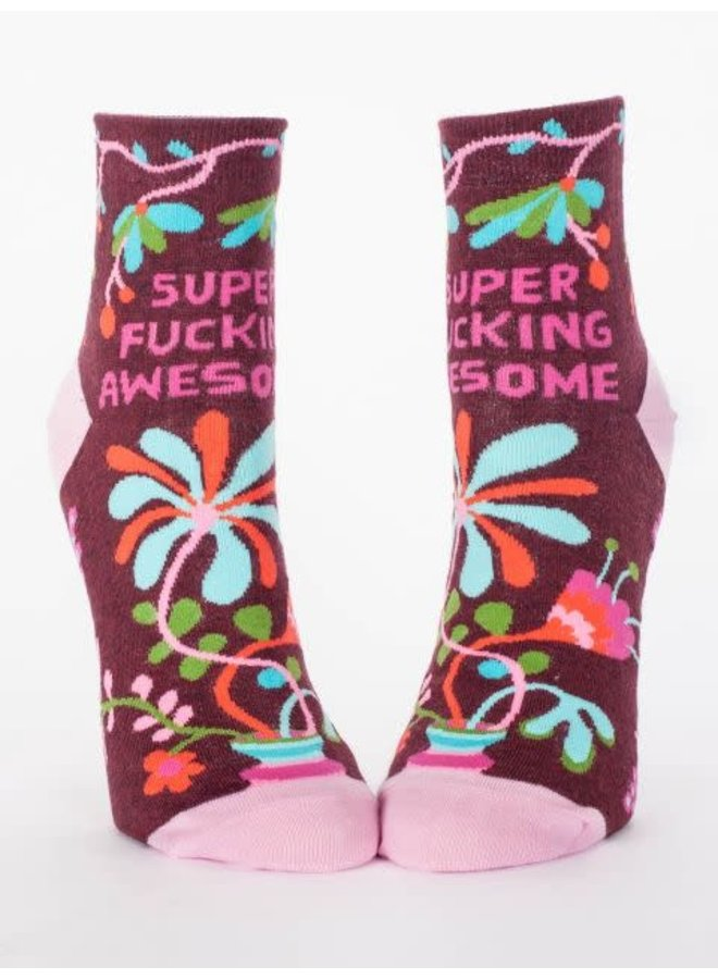 Super Fucking Awesome Women's Ankle Socks