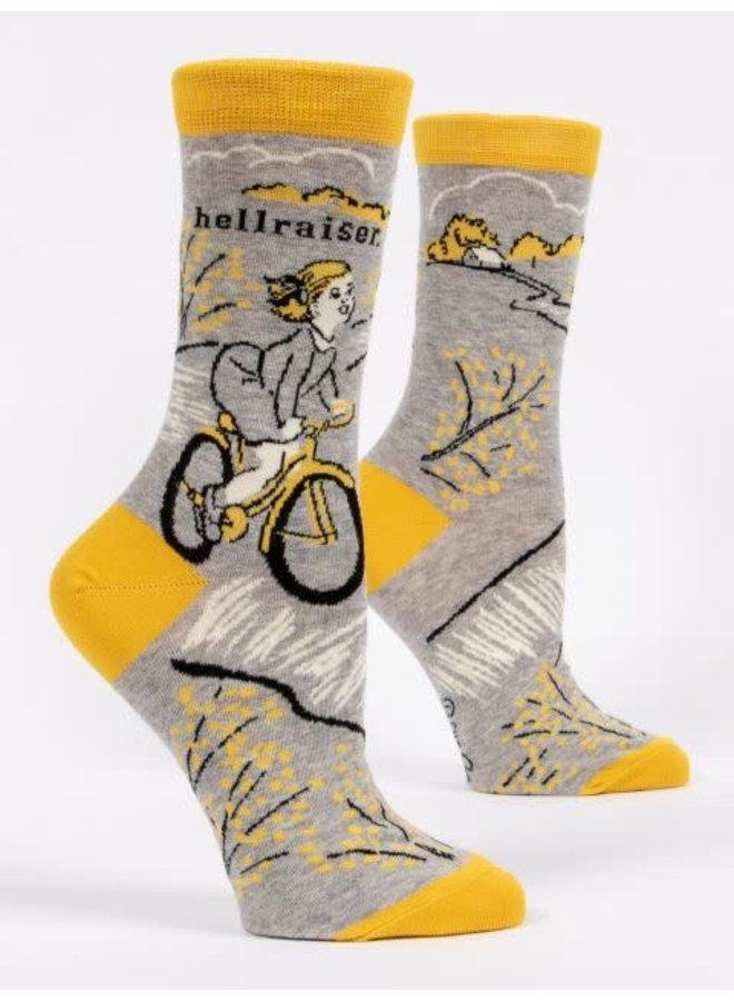 Hellraiser Blonde Women's Crew Socks