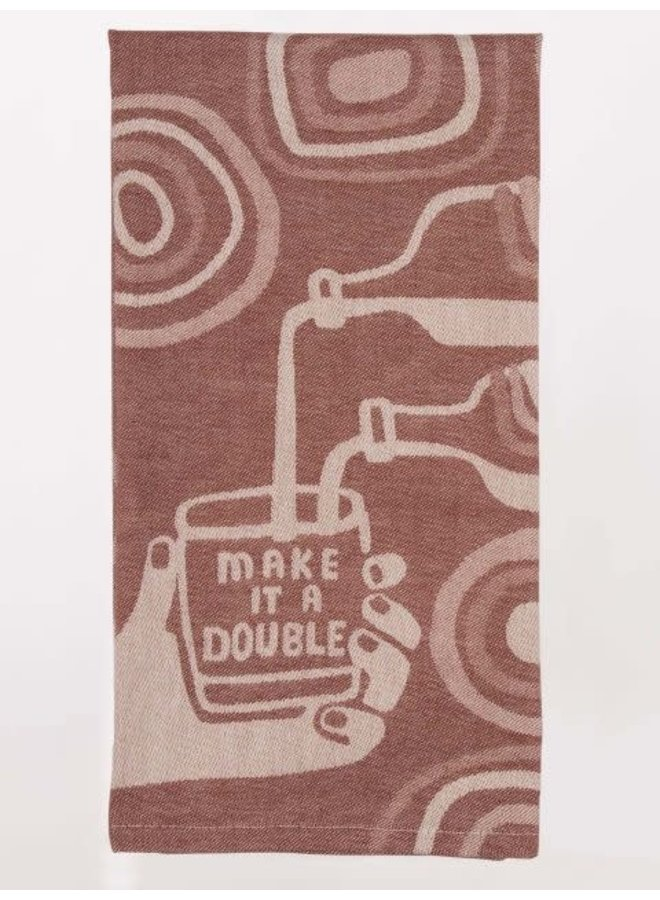 Make It a Double Dish Towel