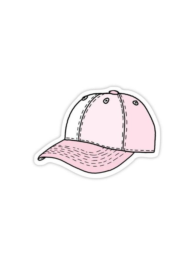 Pink Hat Sticker