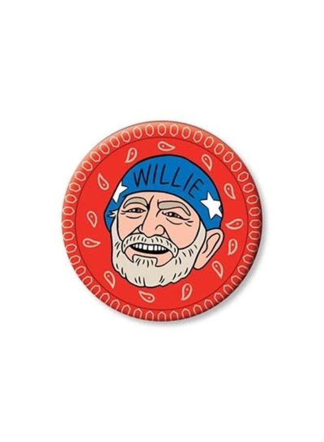 Willie Nelson Magnet