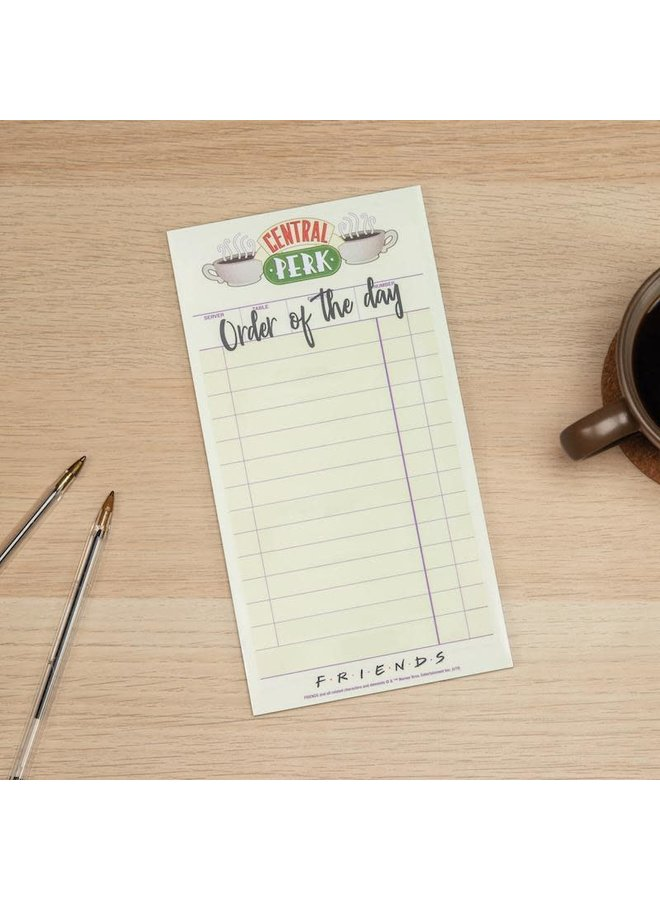 Central Perk To Do List