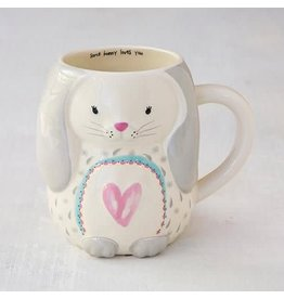 Natural Life Bunny Folk Mug