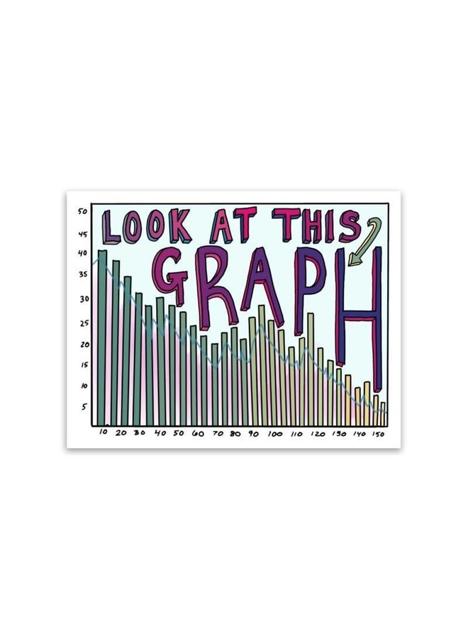 Look at This Graph Sticker
