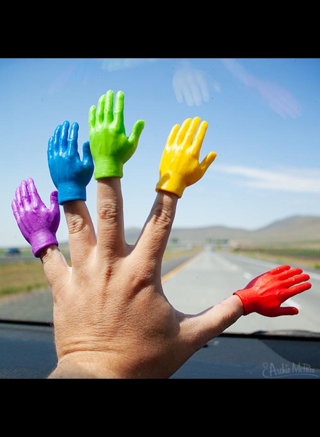 Rainbow Finger Hand