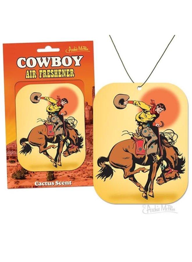 Cowboy Air Freshener