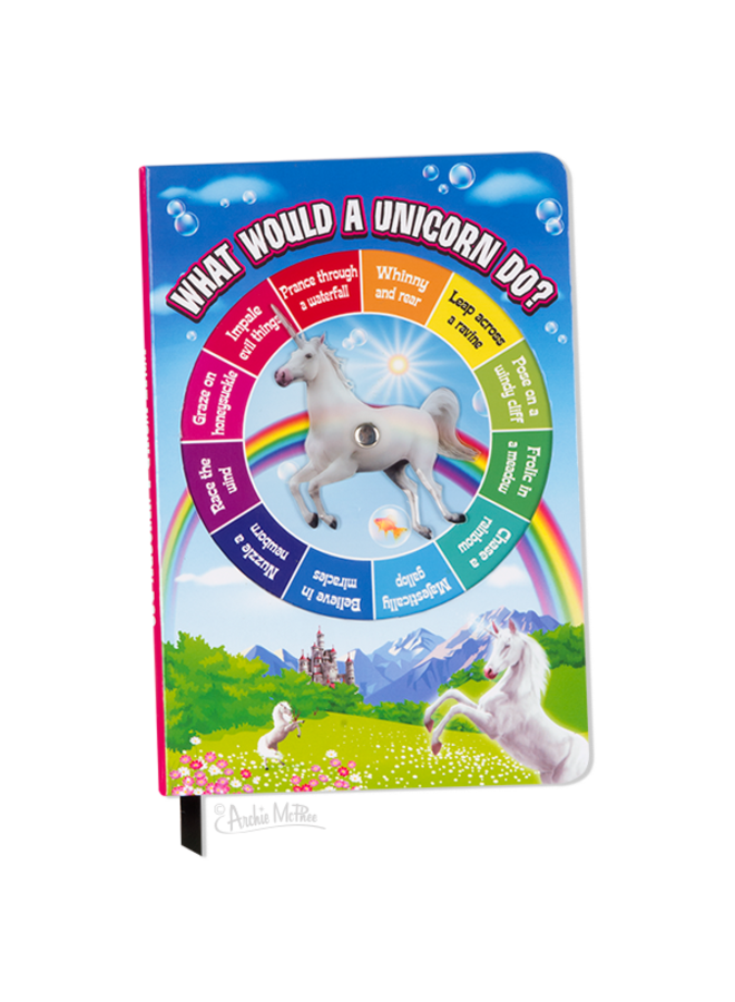 Unicorn Spinner Notebook