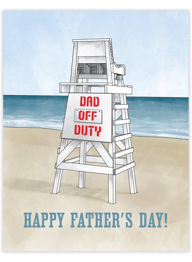 Off Duty Dad Card