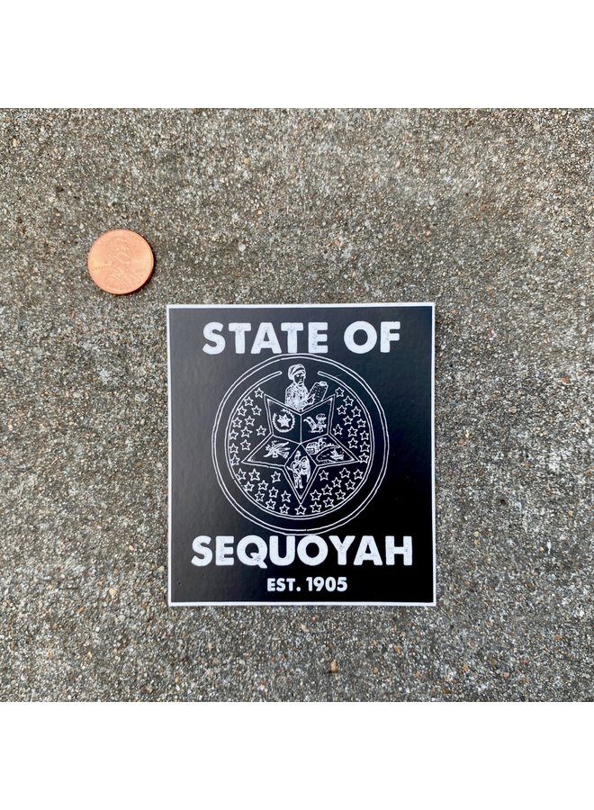 State Of Sequoyah Sticker