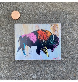 Steven Paul Judd Pop Art Bison Sticker