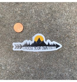 Steven Paul Judd Choose Your Own Path Sticker