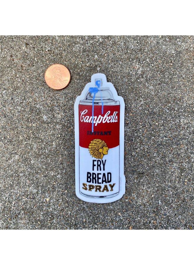 Campbell's Fry Bread Spray Sticker