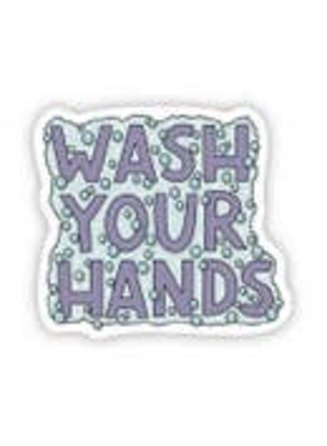 Wash Your Hands Sticker