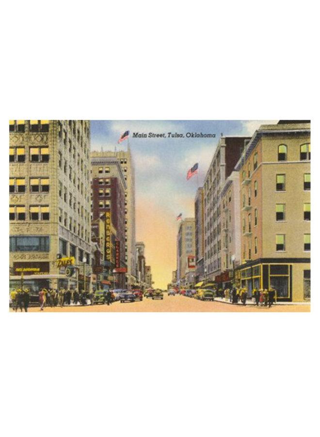 Main Street, Tulsa Postcard