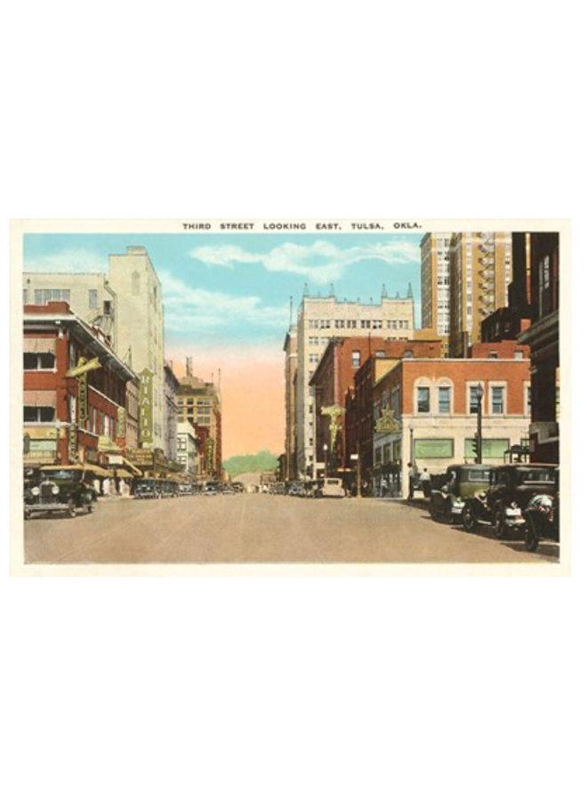 Third Street Tulsa Postcard
