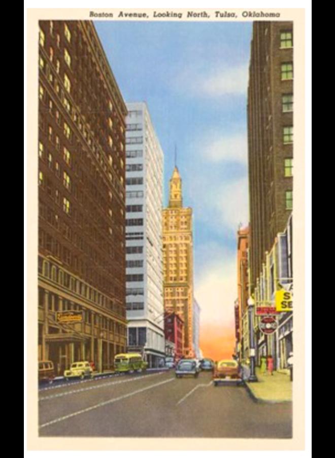 Boston Avenue Tulsa Postcard
