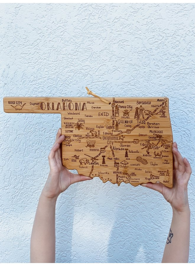 Destination Oklahoma Cutting Board