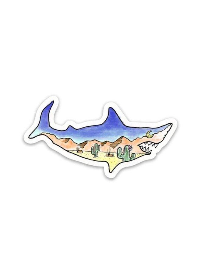 Sand Shark Sticker