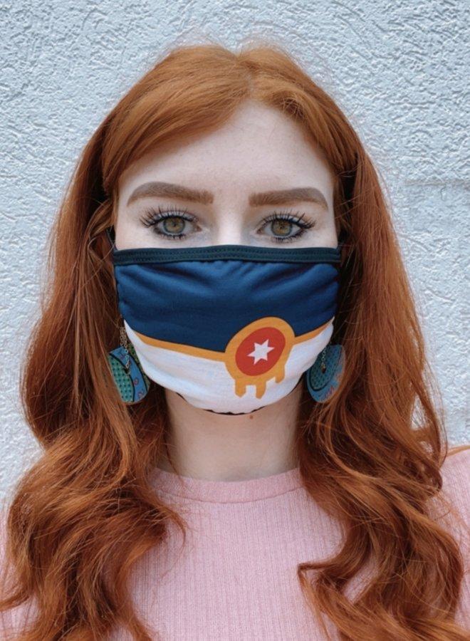Tulsa Flag Face Mask