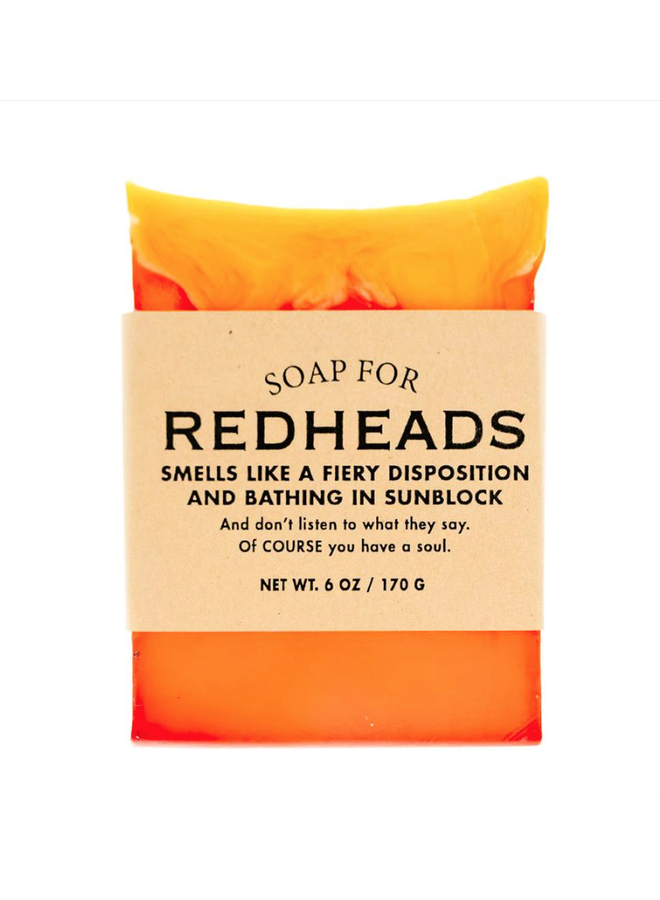 Redheads Soap