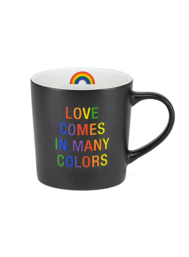 Love Comes In Many Colors Mug